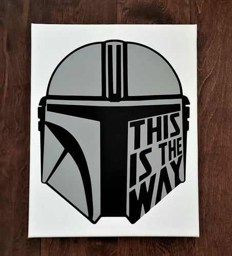 The Mandalorian Helmet, This is the Way