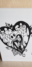 Load image into Gallery viewer, Jack Skellington, Jack and Sally, Once upon a time, Happily ever after