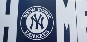 New York Yankees, Yankees Home sign, Yankees Home decor, Baseball