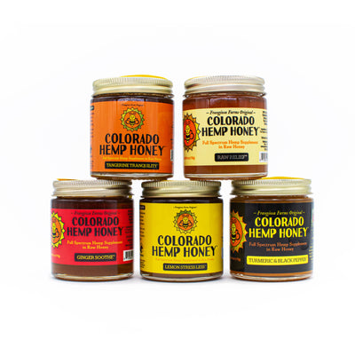 Colorado Hemp Honey 6oz Jars