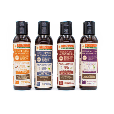 Sun God Medicinals Massage Oil