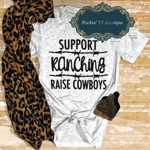 Support Ranching Raise Cowboys
