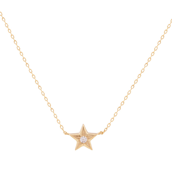 COLLAR ONE STAR ORO