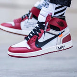 How To Spot Fake Off White Jordan 1 Chicago