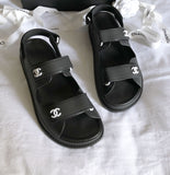 How To Spot Fake Chanel Dad Sandals