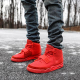 Nike Air Yeezy 2 Red October Fake vs Real