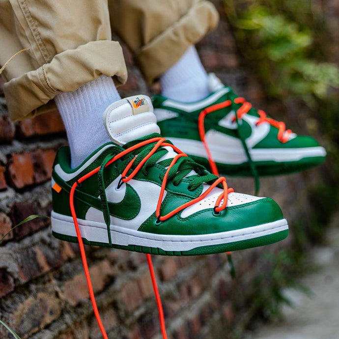 How to spot fake Nike Dunk Low Off White Pine Green | Off White Fake vs Real
