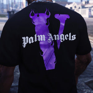 How To Spot Fake Vlone x Palm Angels Tee