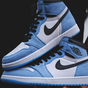 How To Spot Fake Jordan 1 Retro High University Blue Black
