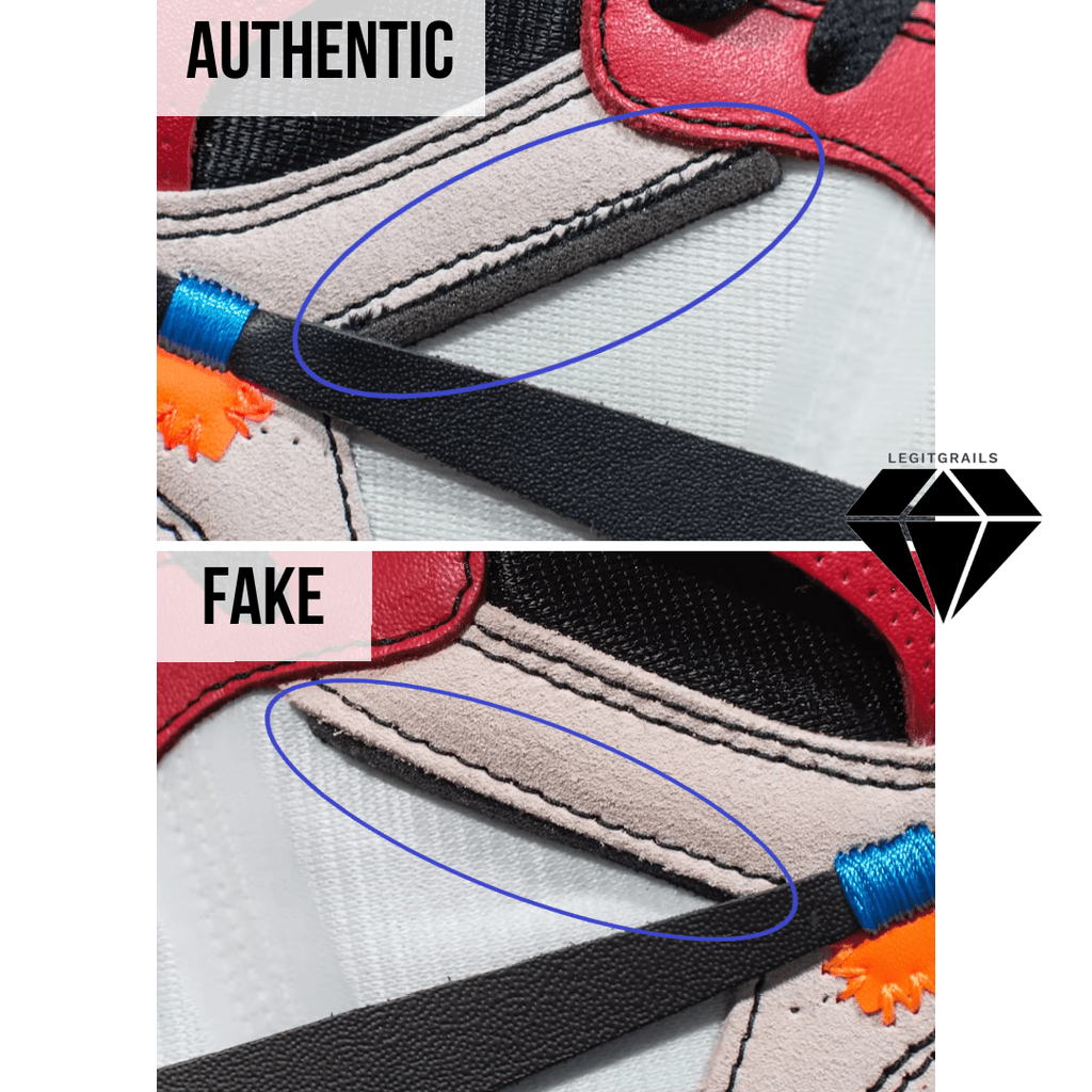 How to Spot Fake Off White Jordan 1 Chicago: The Deconstructed Foam Method