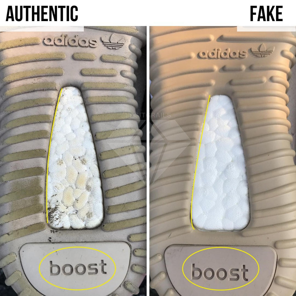 How To Spot Fake Yeezy Boost 350 V1: The Boost Sole Method