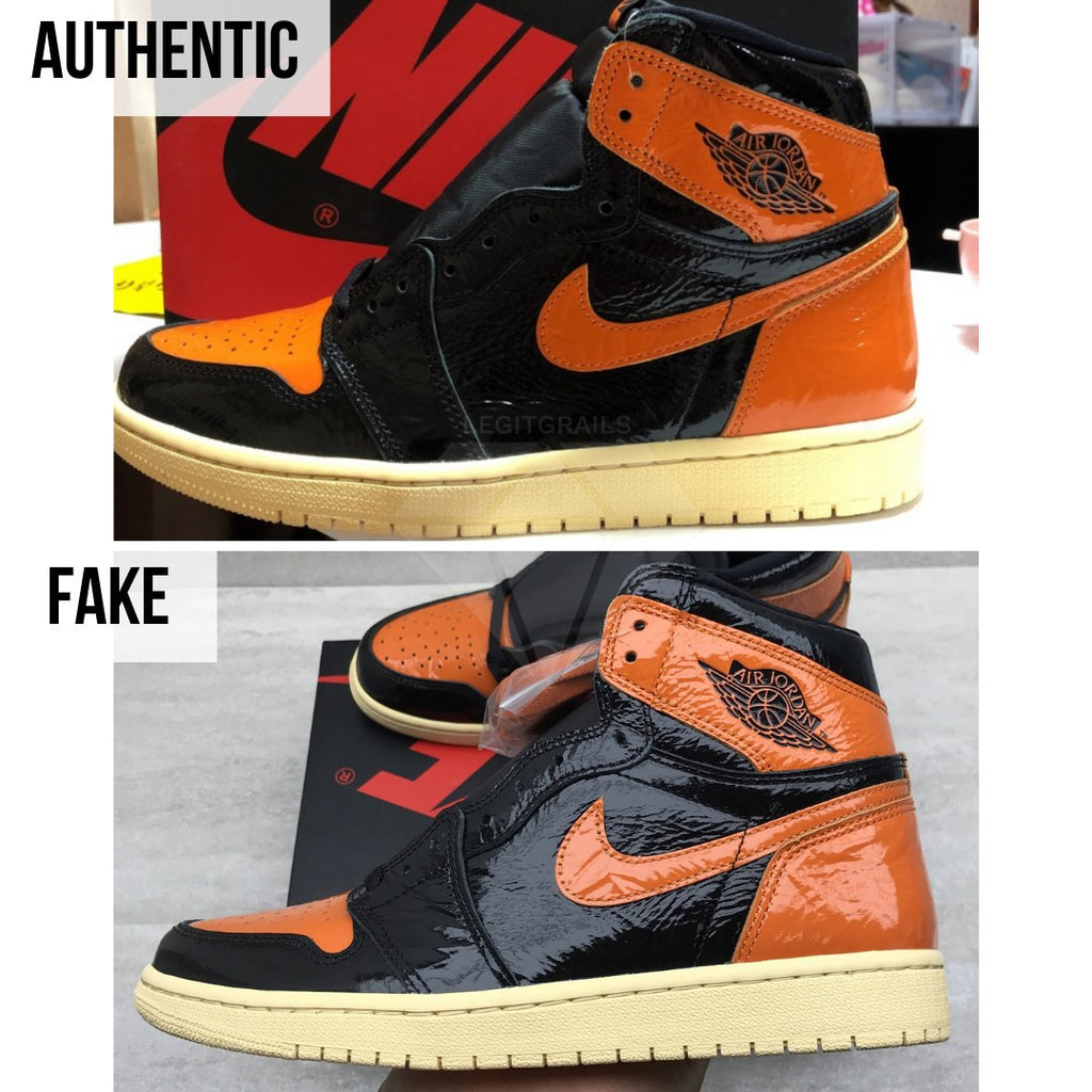 Jordan 1 Shattered Backboard 3.0 Legit Check Guide: The Overall Shape Method