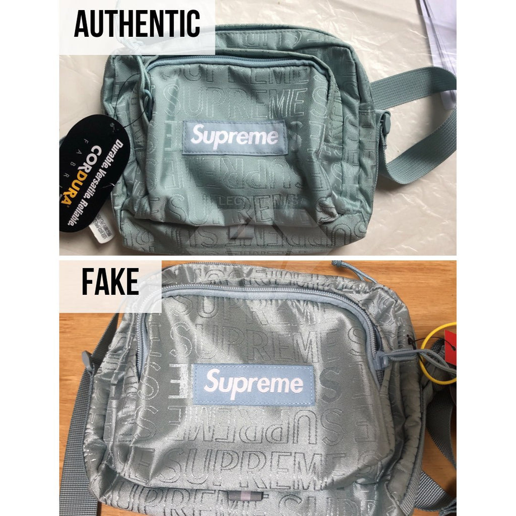 Supreme SS19 Shoulder Bag Legit Check Guide: The Overall Shape Method