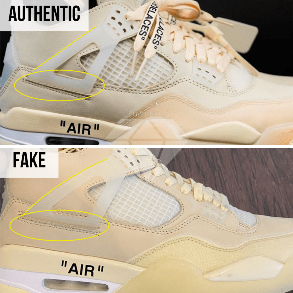 How To Legit Check Off-White Jordan 4 Sail – LegitGrails