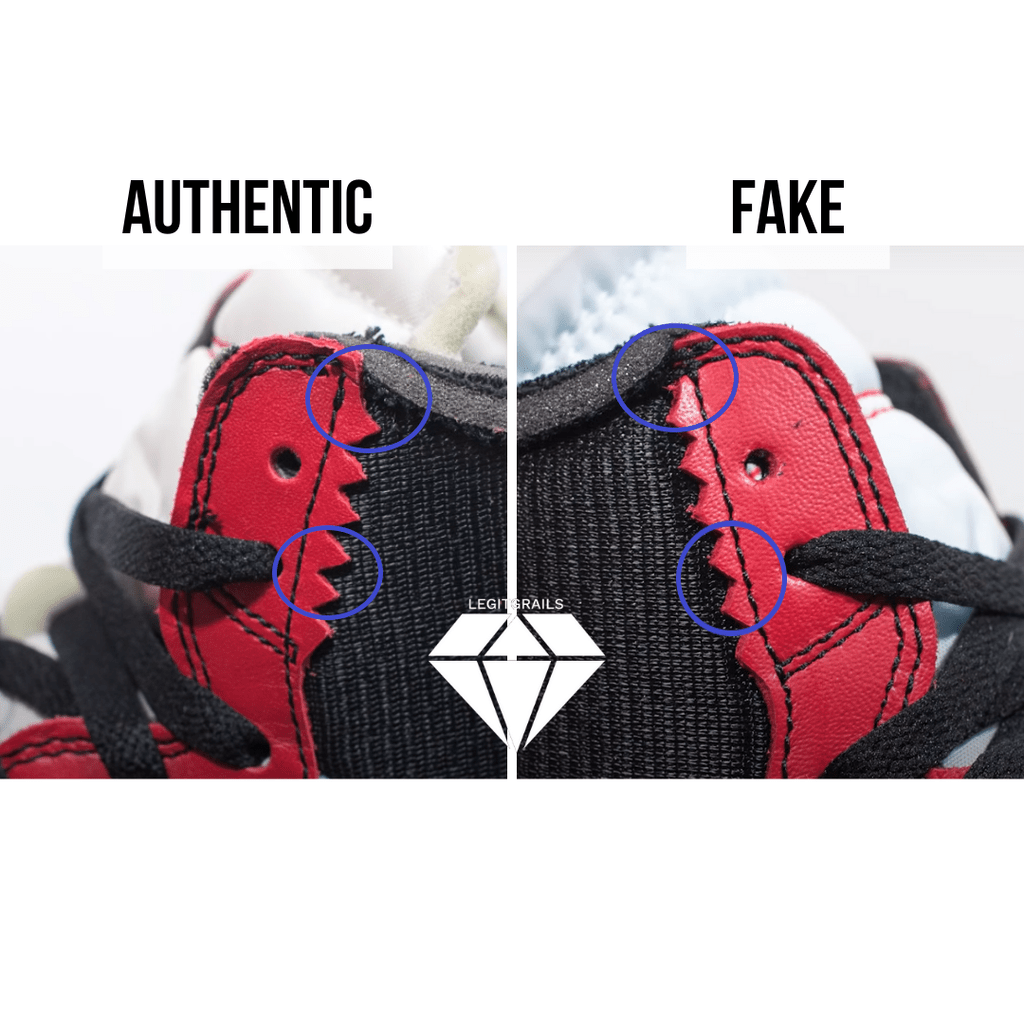 How to Spot Fake Off White Jordan 1 Chicago: The Zig Zag Method