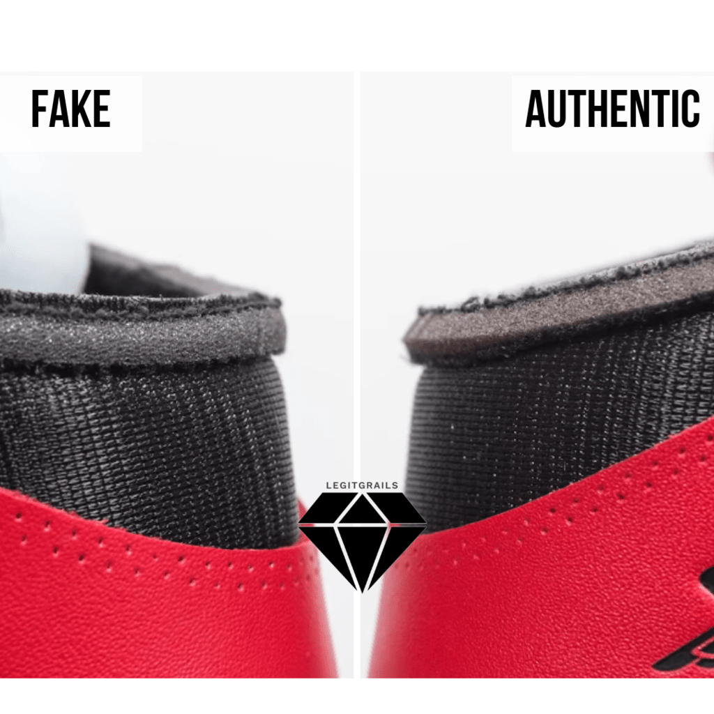 How to Spot Fake Off White Jordan 1 Chicago: The Foam Edge Method