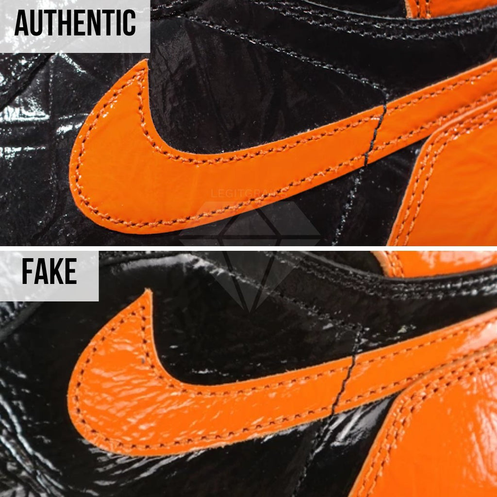Jordan 1 Shattered Backboard 3.0 Legit Check Guide: The Swoosh Method