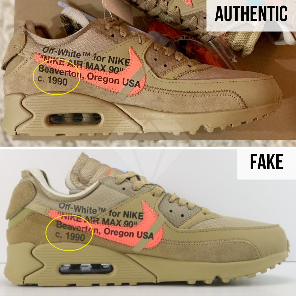 How to Spot A Fake Nike Air Max Off