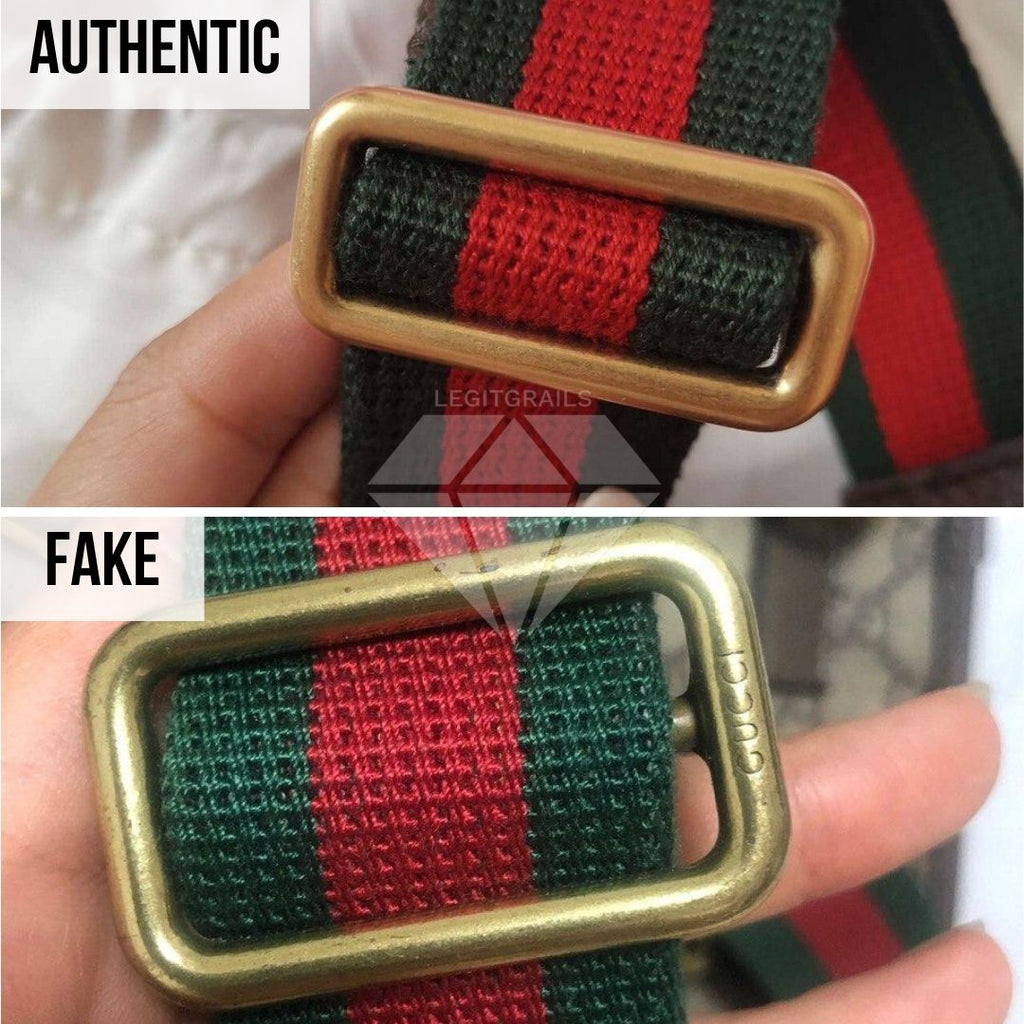 How to authenticate your Gucci Bag: Buckle Real vs Fake