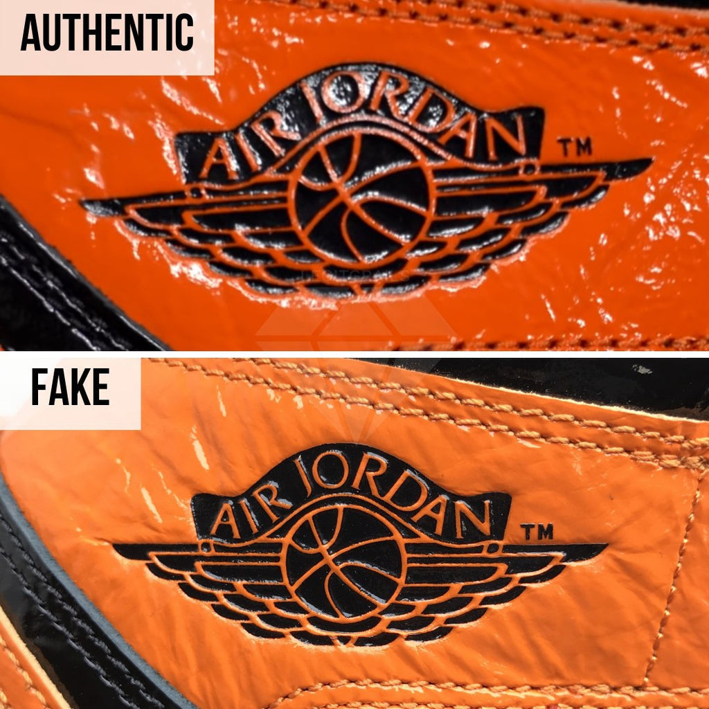 Jordan 1 Shattered Backboard 3.0 Legit Check Guide: The Air Jordan Logo Method