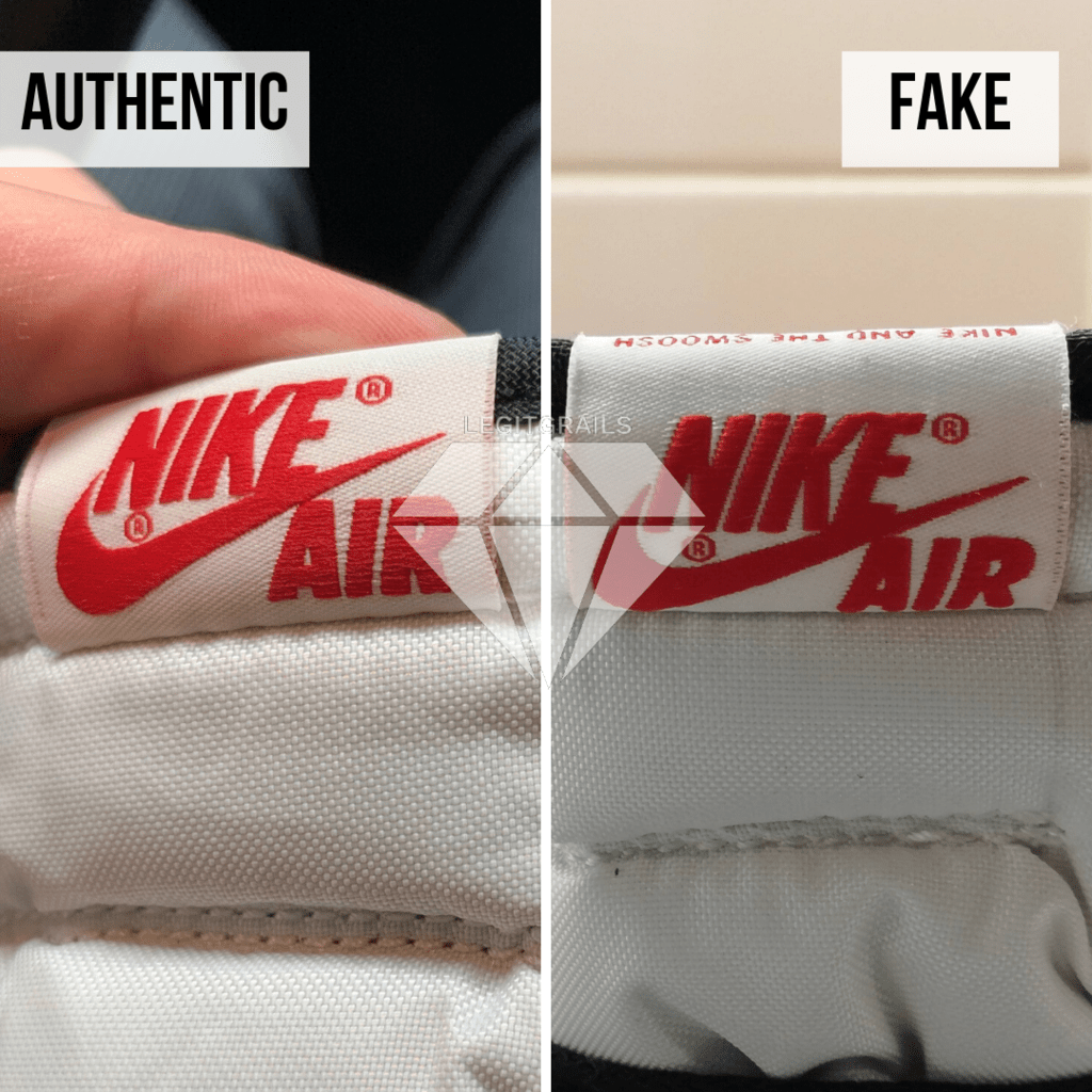 How to legit check Travis Scott Jordan 1 High: The Outer Tongue Label Method