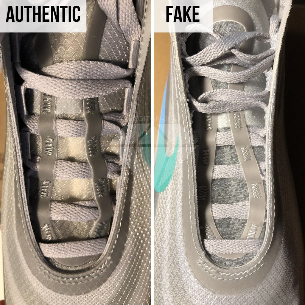 How to Spot Fake Air Max Off-White 97 Menta: The Throat Method