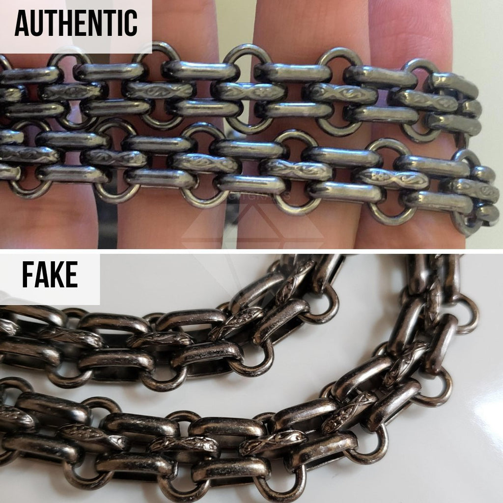 Chanel 2.55 Bag Authentication Guide: The Chain Hardware Method