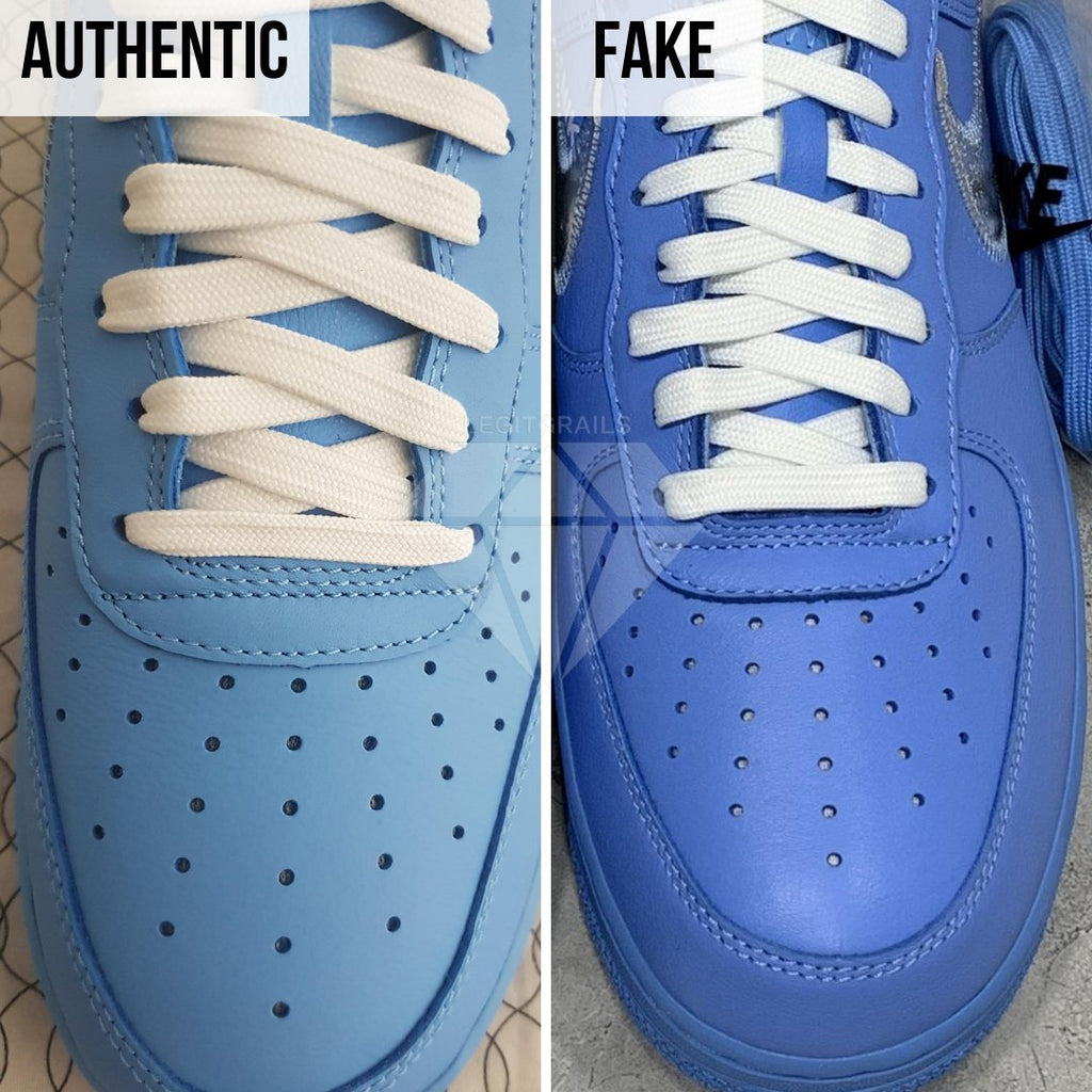 Nike Air Force 1 Off-White MCA Real VS Fake Guide: The Toe Box Method