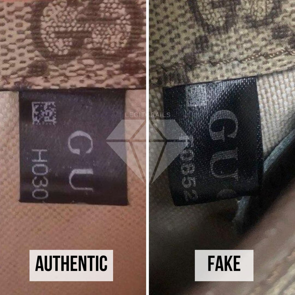 How to authenticate your Gucci Bag: QR code Real vs Fake