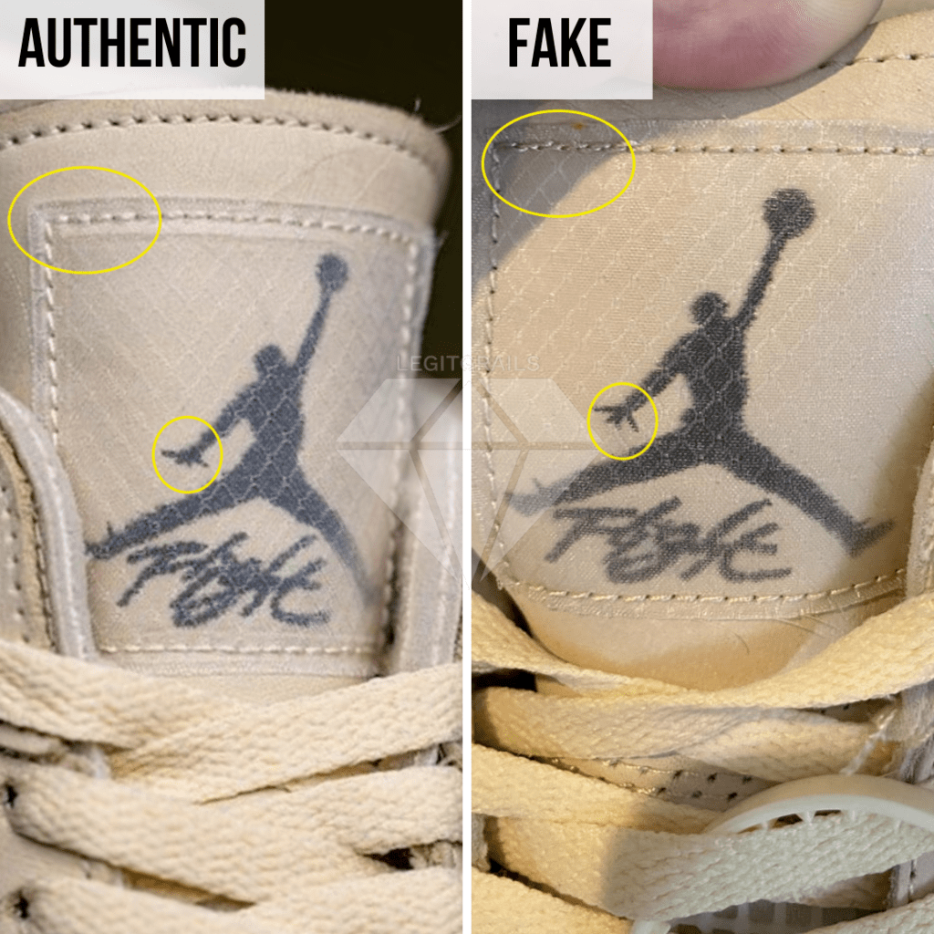 How To Legit Check Off-White Jordan 4 Sail: The Tongue Label Method