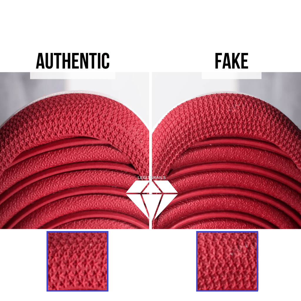 How to Spot Fake Off White Jordan 1 Chicago: The Outsole Asterix Method