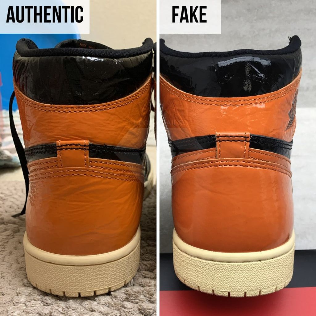 Jordan 1 Shattered Backboard 3.0 Legit Check Guide: The Heel Method