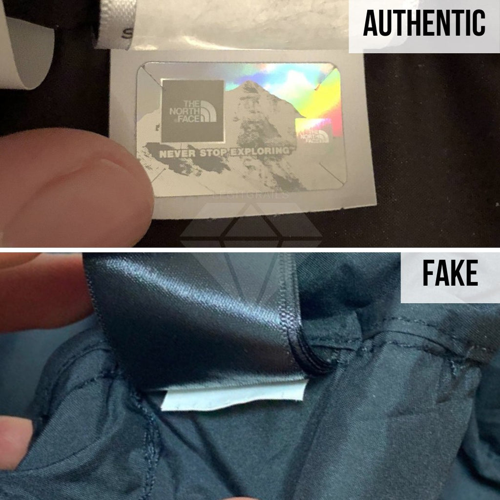 Supreme The North Face Mountain Baltoro Jacket Fake VS Real Guide: The Holographic Tag Method