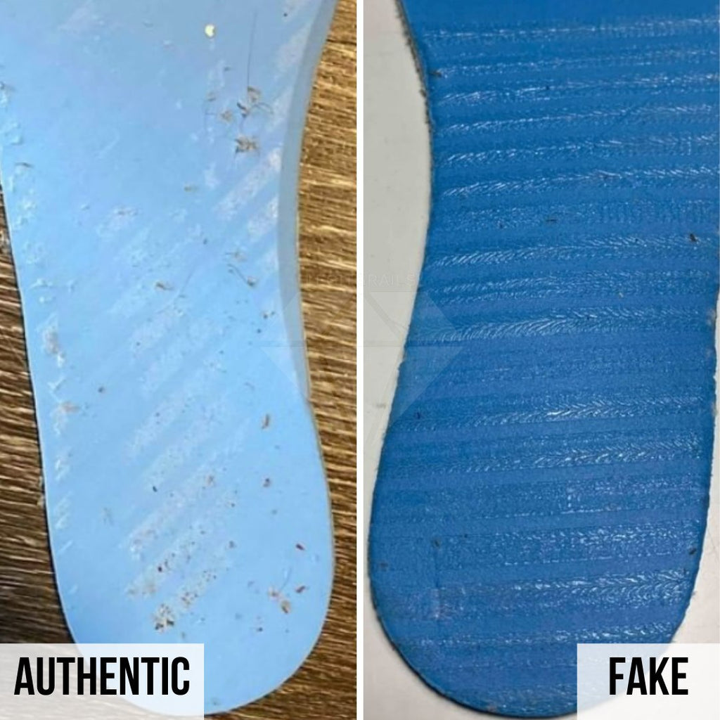 Jordan 1 Off White NRG Fake vs Real Guide: The Insole Method