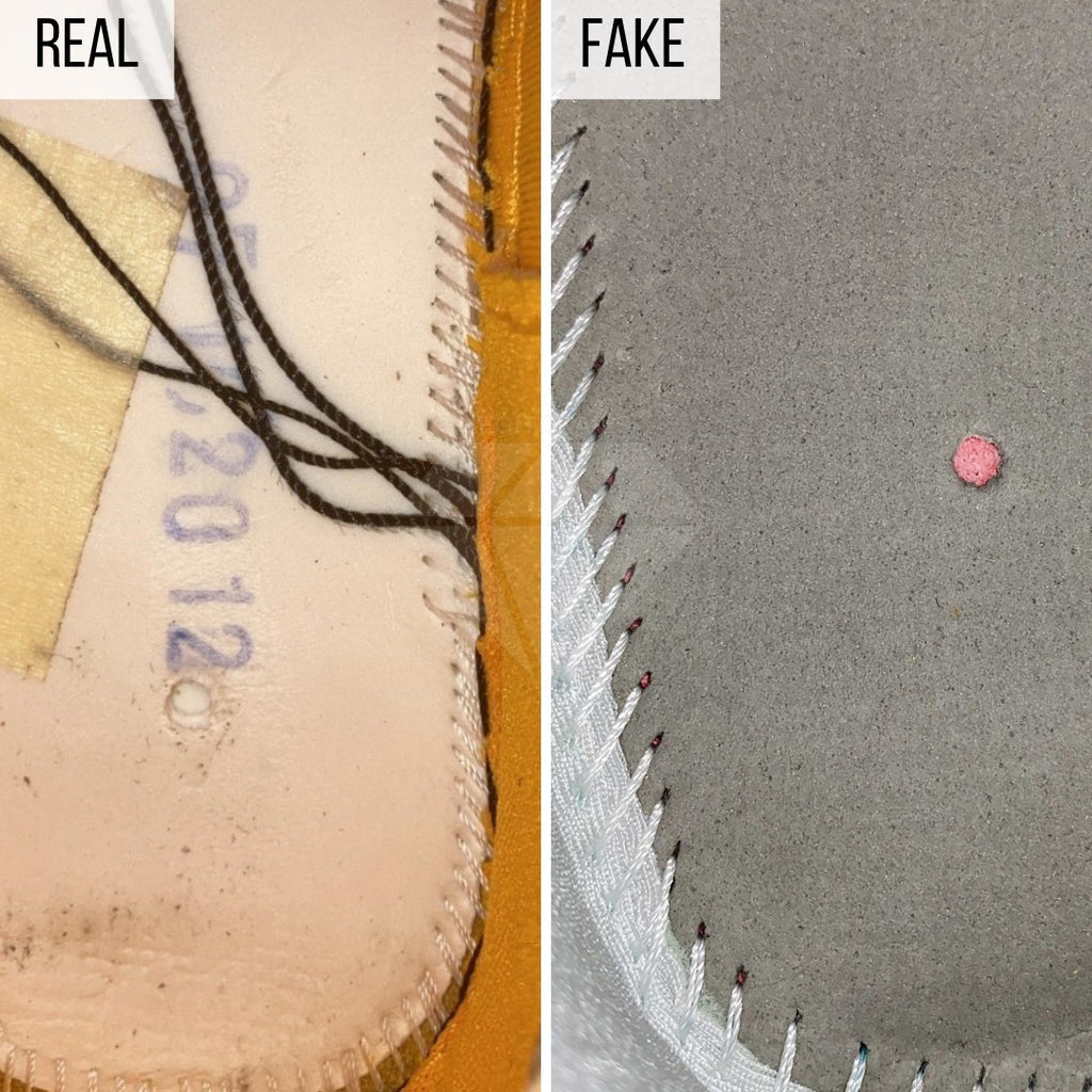 How To Legit Check Nike Air Rubber Dunk Off-White: The Footbed Method