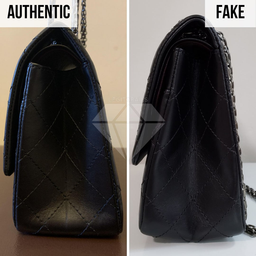 Chanel 2.55 Bag Authentication Guide: The Side View Method