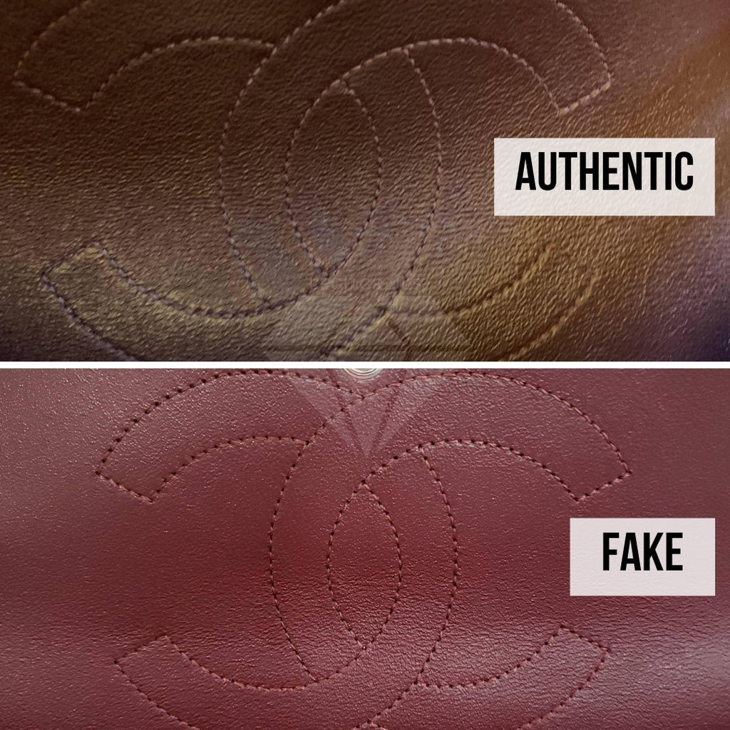 Chanel 2.55 Bag Authentication Guide: The Inner CC Logo Stitching Method
