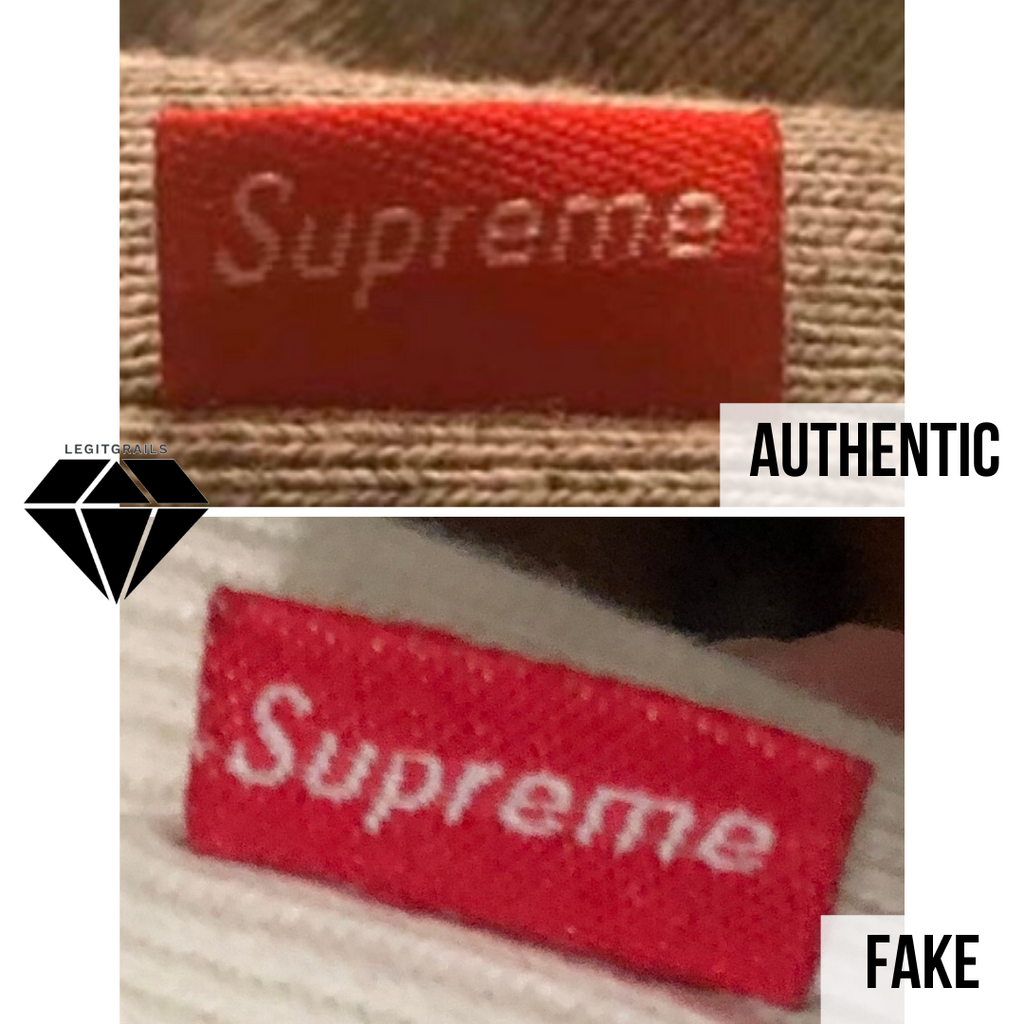 How to spot fake Supreme Box Logo hoodie: the side tag method