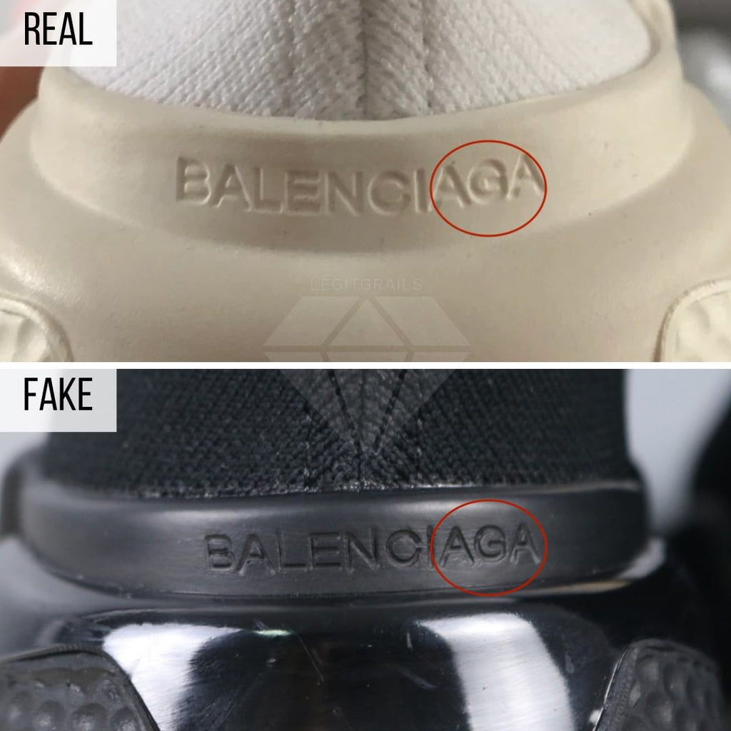 Balenciaga Speed trainers fake VS real