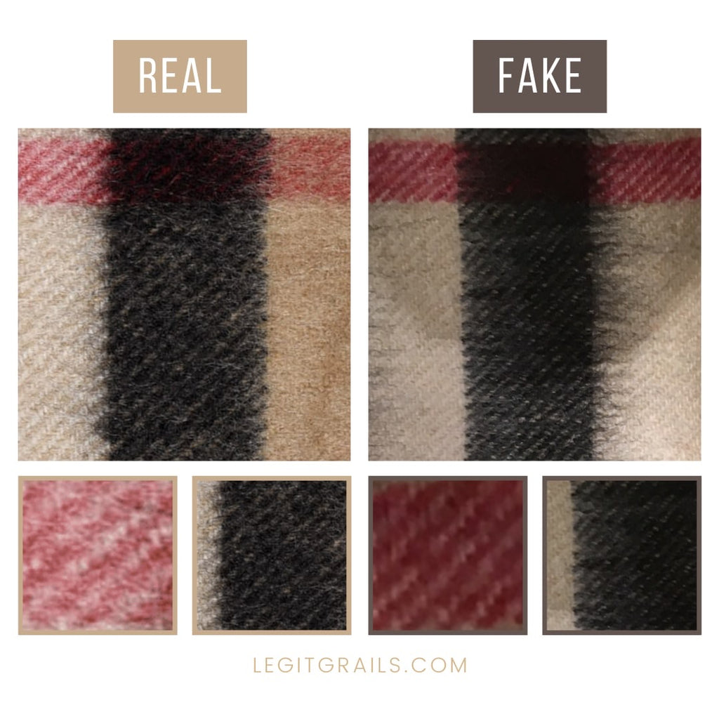 Burberry Scarf Authentication