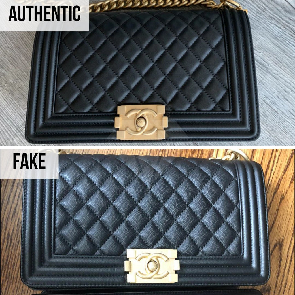 Chanel Boy Bag Fake VS Real Guide - How To Spot a Fake Chanel Boy Chanel Boy Bag Authentication