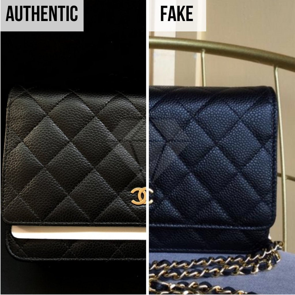 Chanel Wallet On Chain Fake VS Real