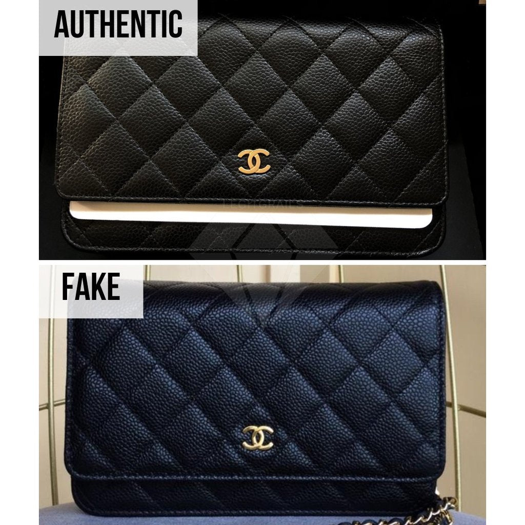 Chanel Wallet On Chain/WOC Fake VS Real Guide: Chanel WOC Fake VS Real