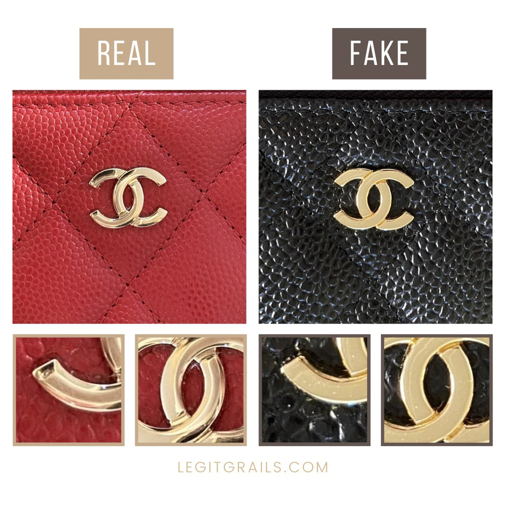 Chanel Wallet Real Vs Fake