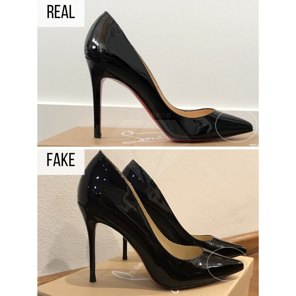 Christian Loubouting Pigalle Authentication Guide - Christian Louboutin Pigalle Real VS Fake: How To Spot Fake Christian Louboutin Pigalle