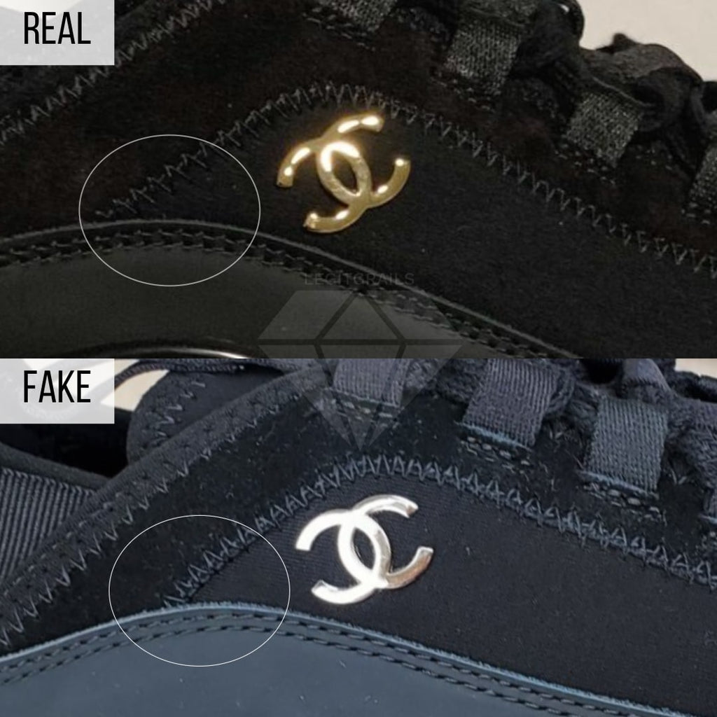Fake Chanel 2020 Cruise Low-Top Sneakers