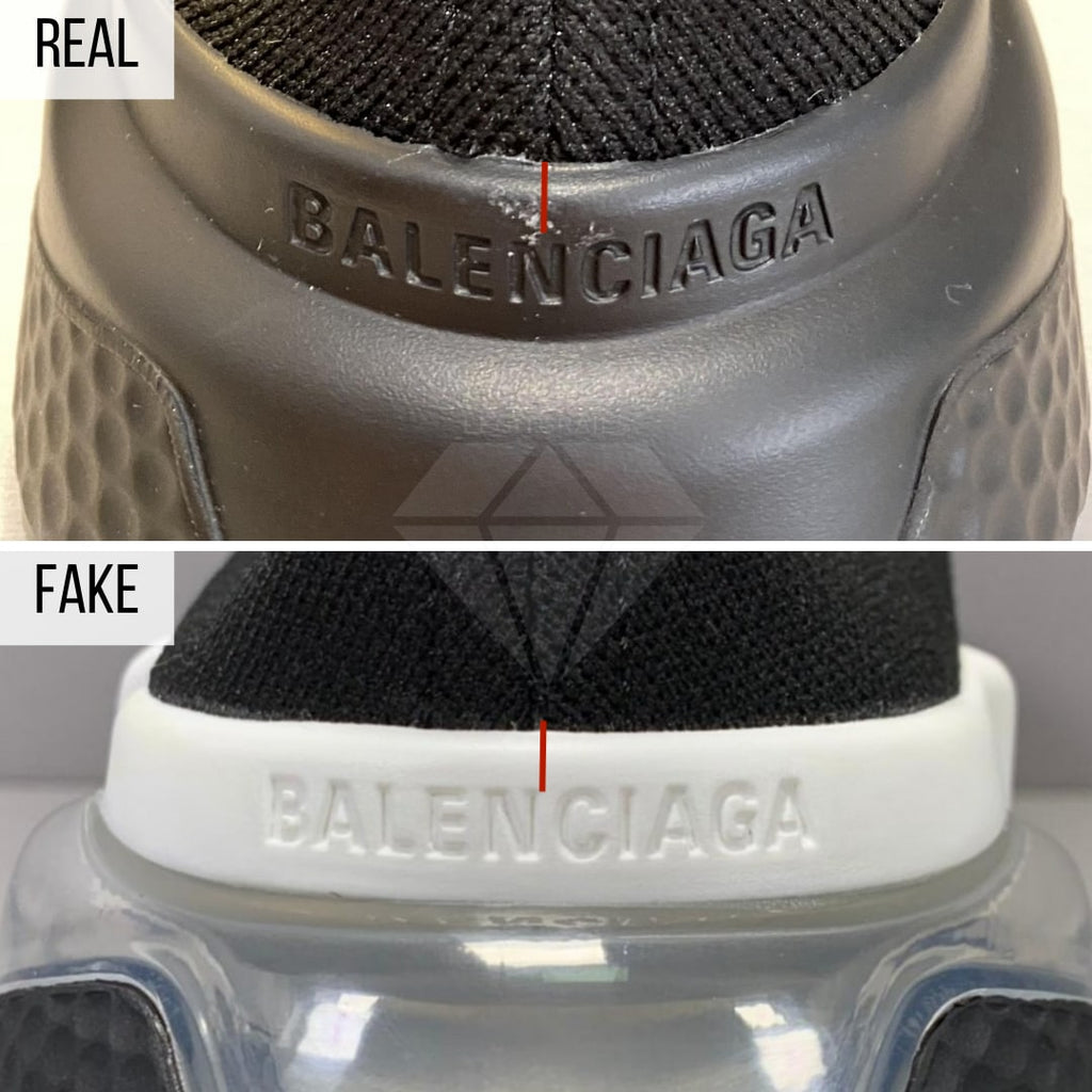 Fake VS Real Balenciaga Speed trainers