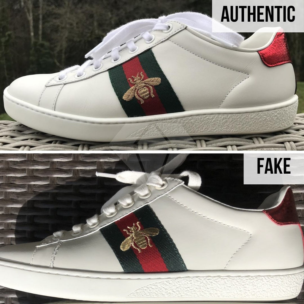 Fake VS Real Gucci Ace Sneakers Guide- Gucci Ace Sneakers Legit Check: How To Authenticate Gucci Ace Sneakers
