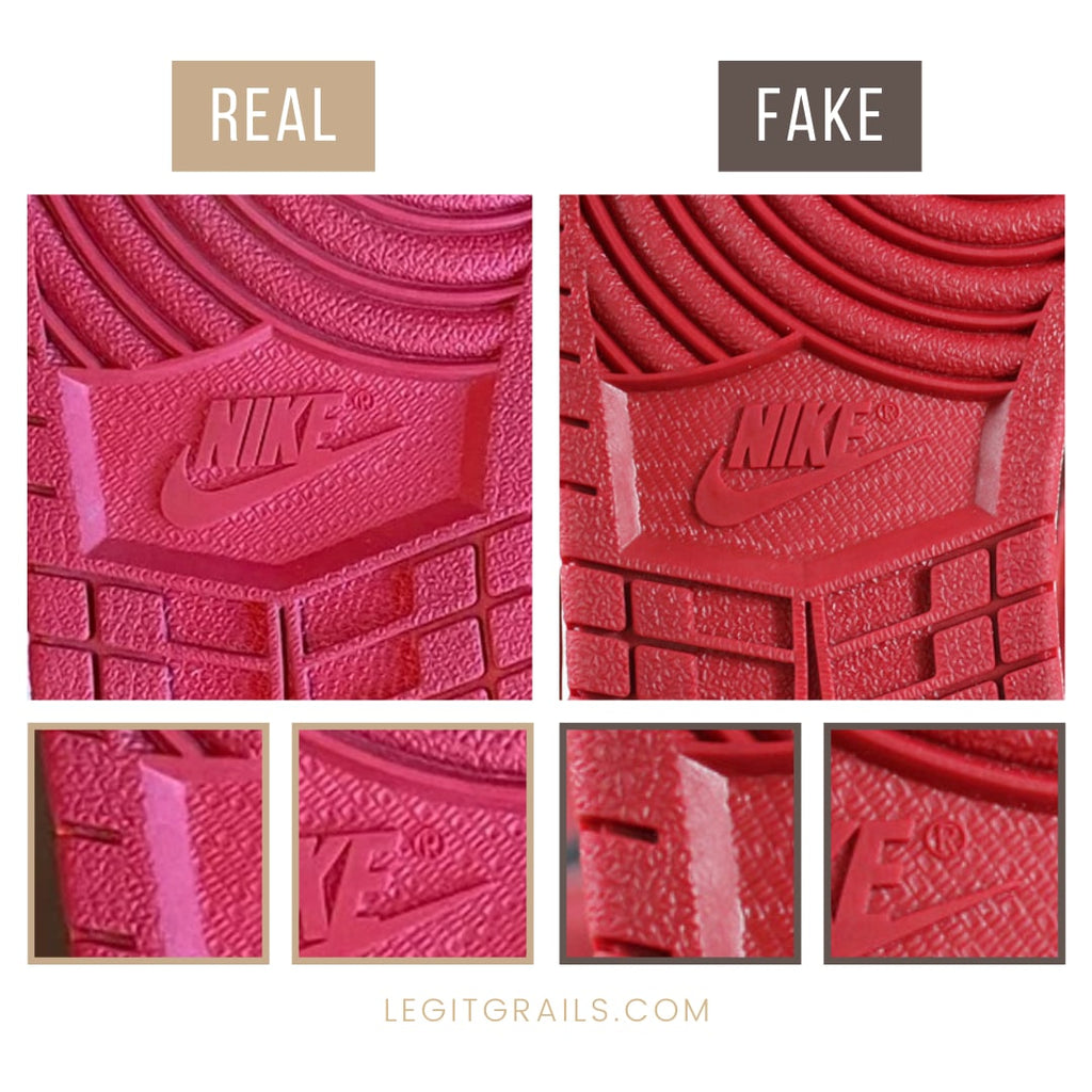 Fake vs Real Jordan 1 Bred Banned 2016