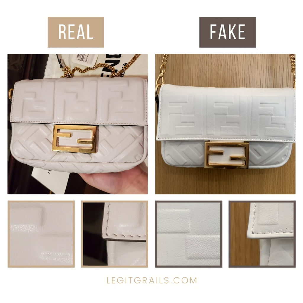 Fendi Baguette Bag Authentication